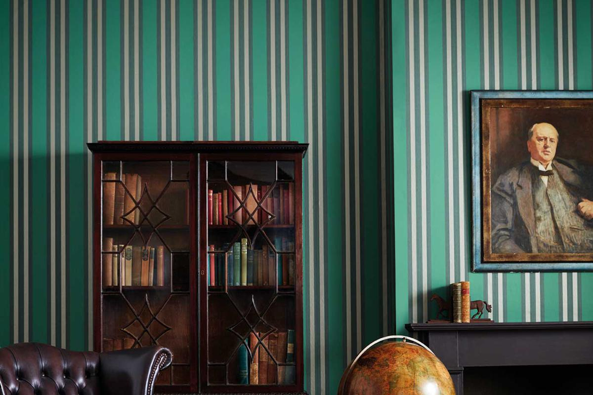 Wallpaper - Marquee Stripes