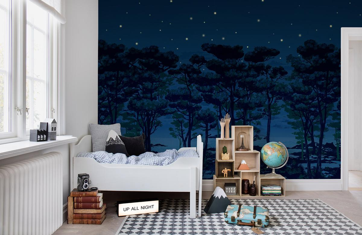 The Enchanted Forest Rebel Walls Wallpaper Enquire Today