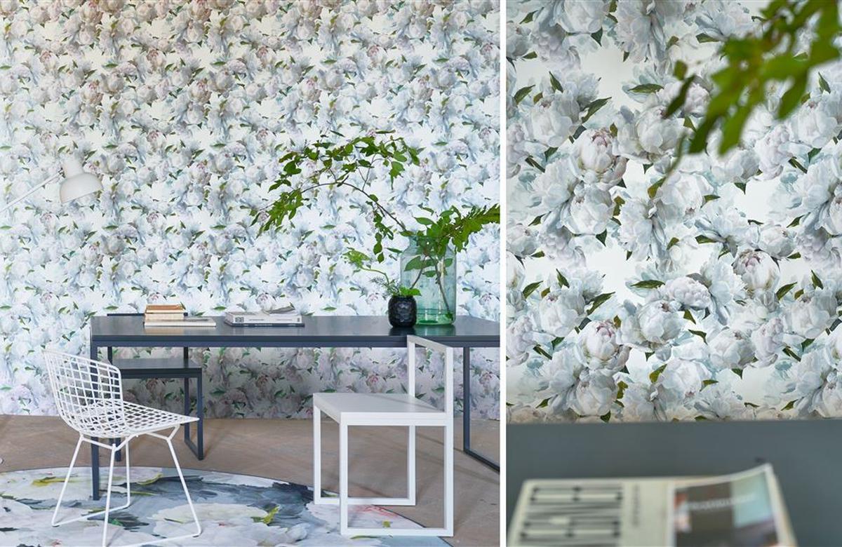 Peonia Designers Guild Wallpaper Enquire Today I