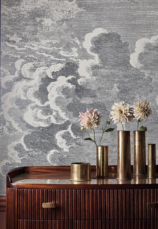 Nuvole Fornasetti Senzo Tempo Cole Son Wallpaper
