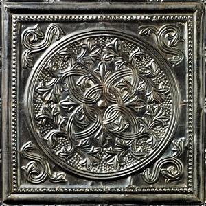 Antique carbon tin tiles image