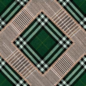 Checkered Patchwork - British Green image