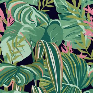 Tropical Foliage - Anthracite image