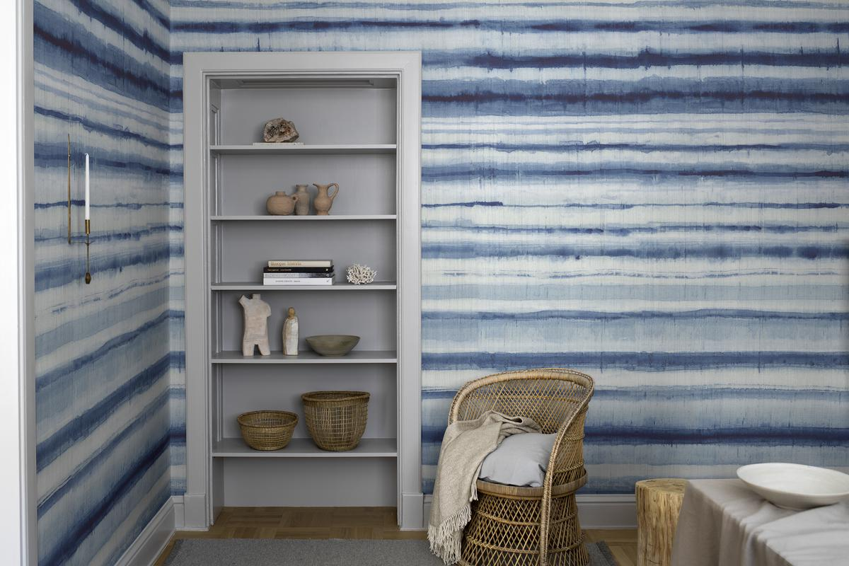 Wallpaper - Northern Stripes