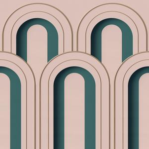 Arch Deco - Pink image